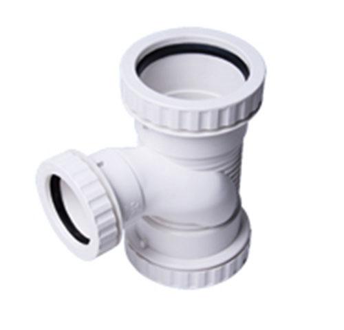 建筑排水用硬聚氯乙烯(PVC—U)丝扣消音三通