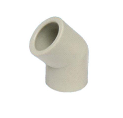 冷热水用无规共聚聚丙烯(PP—R)热熔承插 45°弯头