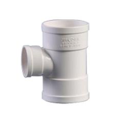 内蒙古建筑排水用硬聚氯乙烯(PVC—U)90°异径顺水三通