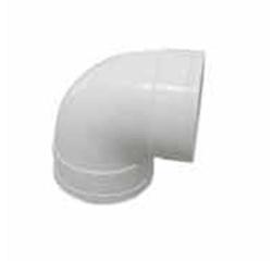 内蒙古建筑排水用硬聚氯乙烯(PVC—U)90°弯头