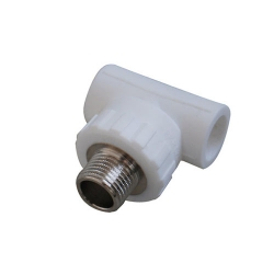 Atactic polypropylene (PP - R) pipe fittings for cold and hot water